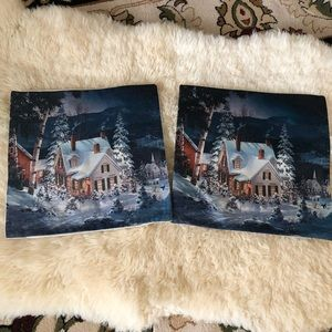 Other - Set of 2 Linen decorative pillowcases